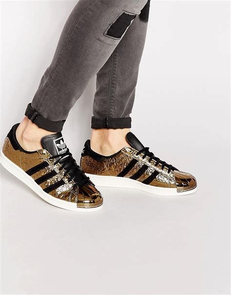 Adidas Originals Superstar 80's Metal Toe Sneakers