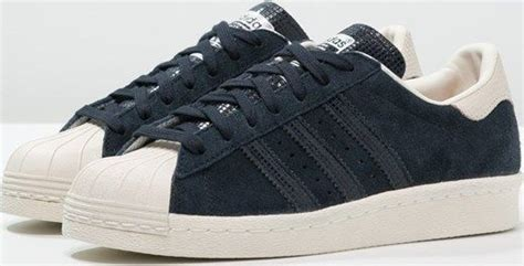 Adidas Originals Superstar 80s Sneakers Laag Night Navy Offwhite