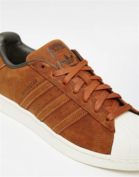 Adidas Originals Superstar Waxed Leather Sneakers