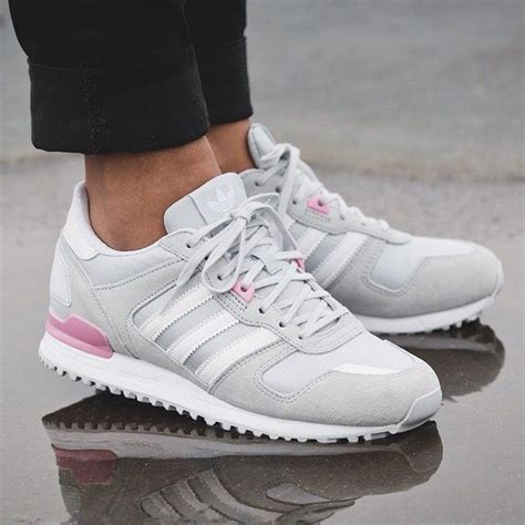 Adidas Originals Zx 700 Sneaker Grey Pink