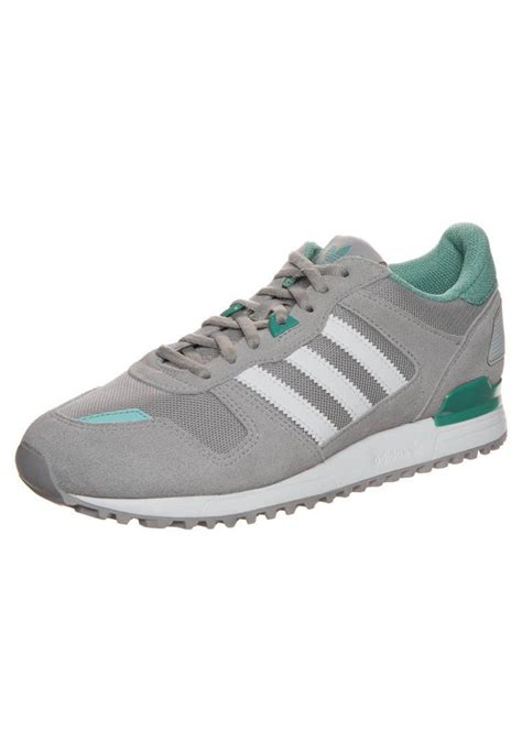 Adidas Originals Zx 700 W Sneakers Laag Grey Green White