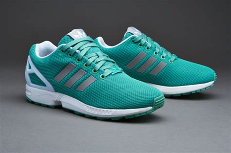 Adidas Originals Zx Flux - Sneaker - Fade Ocean/solid Grey/white