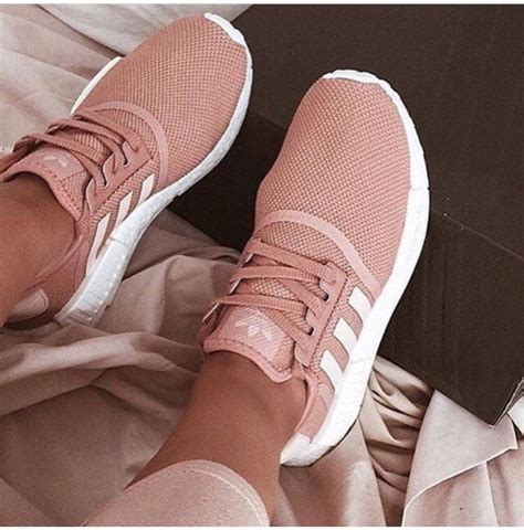 Adidas Pink And Gold Sneakers