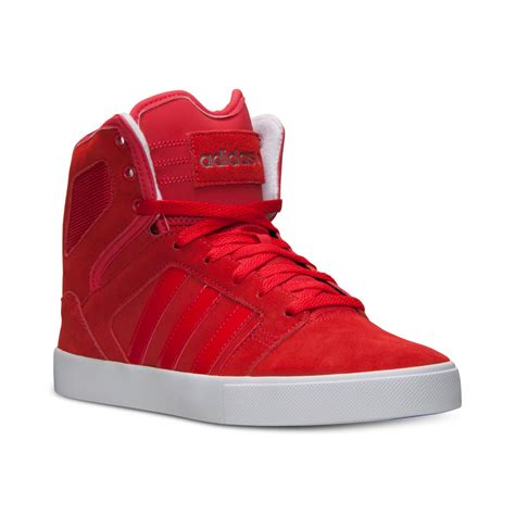 Adidas Red High Sneakers