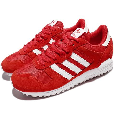 Adidas Red Men's Zx 700 Athletic Running Sneaker