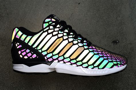 Adidas Reflective Snakeskin Sneakers