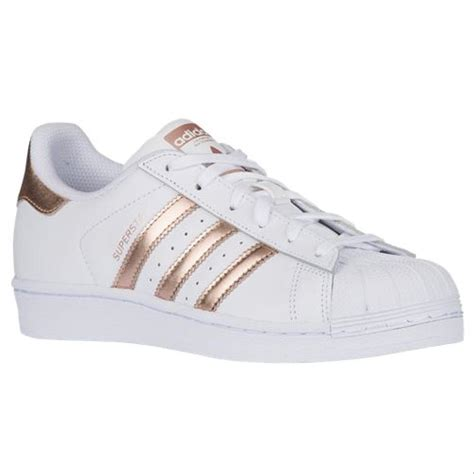 Adidas Rose Gold White Sneakers