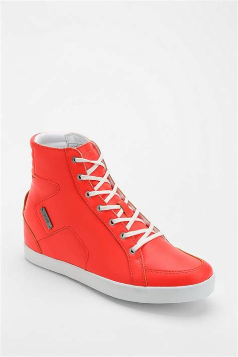 Adidas Slvr Hidden Wedge High Top Sneaker
