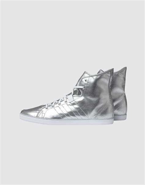Adidas Slvr High Top Sneaker