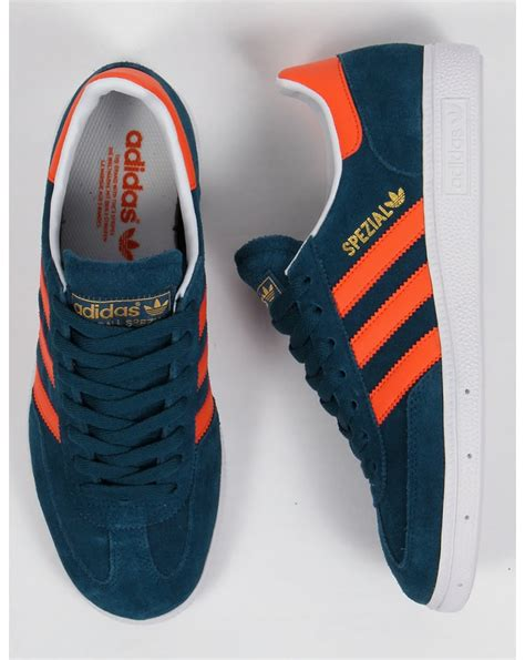 Adidas Sneakers Black Orange Stripe