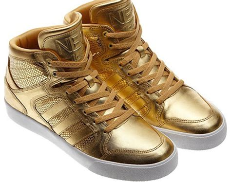 Adidas Sneakers Gold Tip