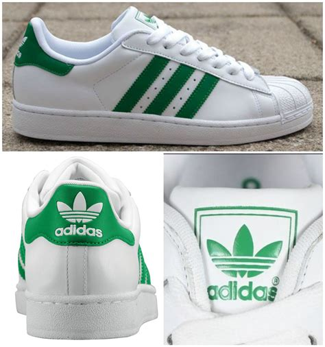 Adidas Sneakers Green Stripes