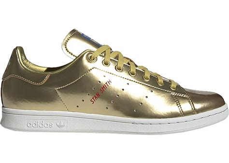 Adidas Sneakers Stan Smith Gold