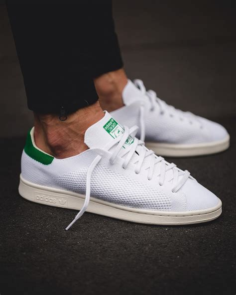 Adidas Stan Smith Og Primeknit Sneakers Basses Homme
