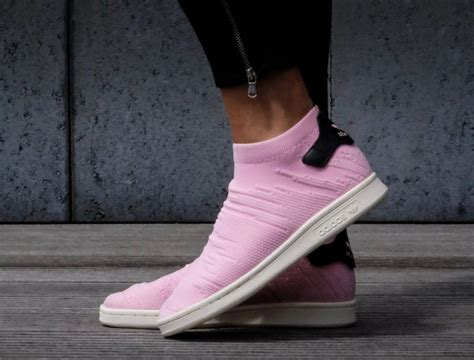 Adidas Stan Smith Primeknit Sneakers Pink