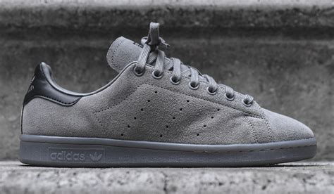 Adidas Stan Smith Suede Sneakers Grey