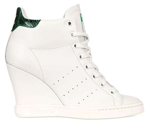 Adidas Stan Smith Up Wedge Sneakers