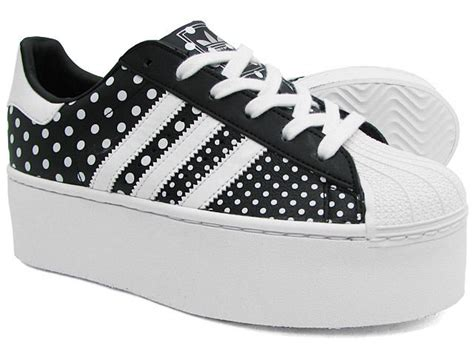 Adidas Superstar 2 Up Wedge Platform Sneakers
