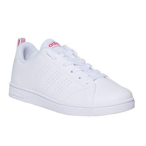 Adidas White And Black Sneakers Kid Academy