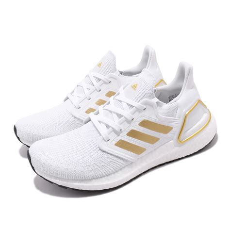 Adidas White And Gold Sneakers Woman