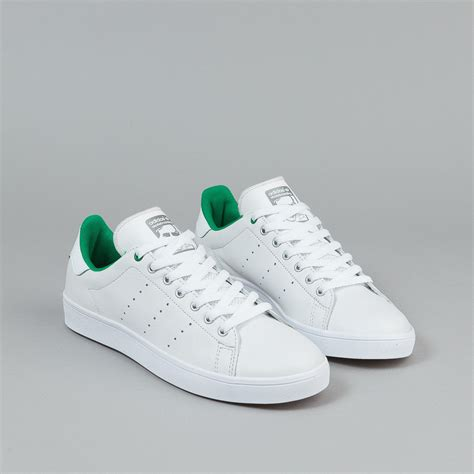 Adidas White Green Sneakers