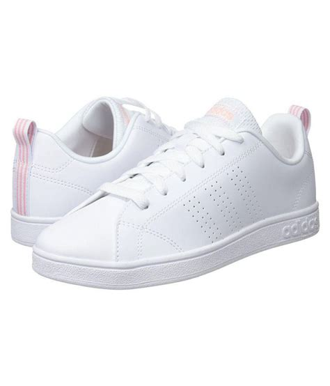 Adidas White Sneakers For Girls