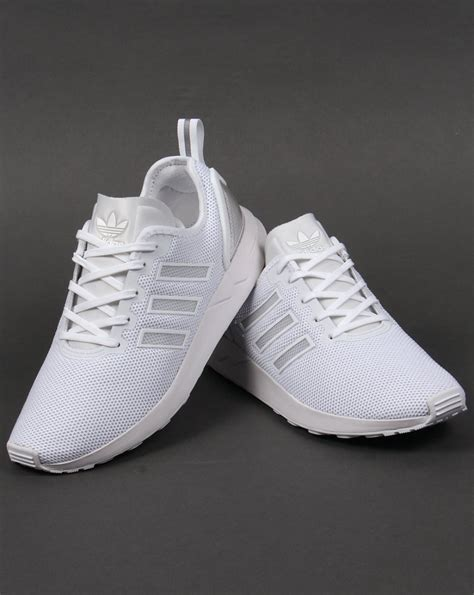 Adidas White Sneakers Nmd Flux Zx Adv