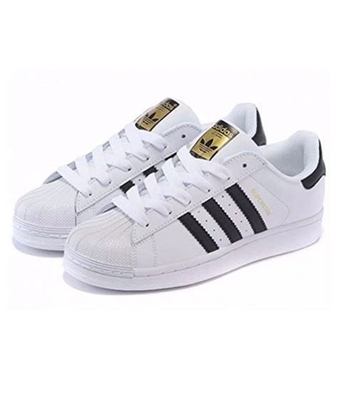 Adidas White Superstar Sneakers India