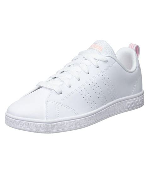 Adidas White Tennis Sneakers