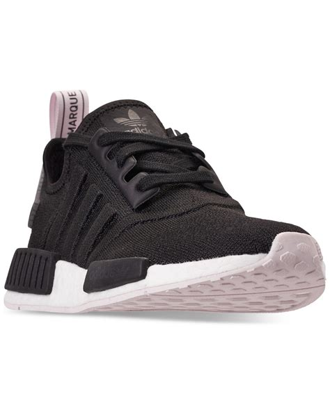 Adidas Womans Black Nmd R1 Sneakers
