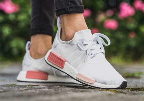 Adidas Women's White Nmd R1 Sneakers
