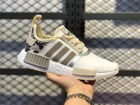 Adidas Women's White Nmd-r1 Sneakers Adidasshop All Adidas