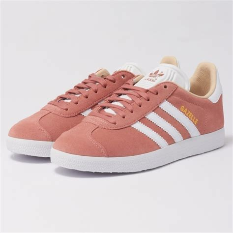 Adidas Womens Ash Pearl Gazelle Sneakers