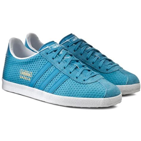 Adidas Womens Gazelle Og W Leather Sneakers