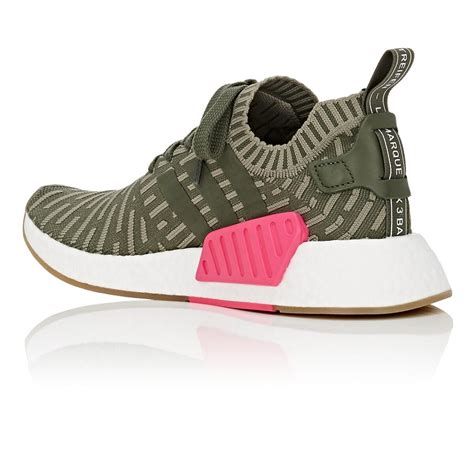Adidas Womens Green Nmd R2 Sneakers