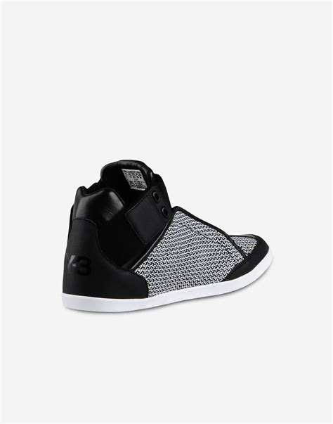 Adidas Y 3 Kazuhiri High Top Sneakers