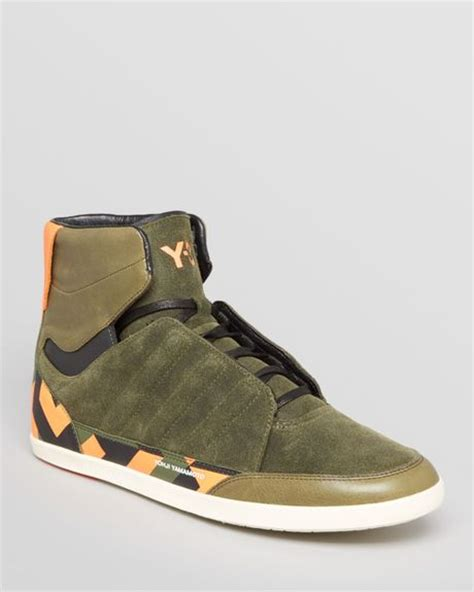 Adidas Y3 Honja High Top Sneakers
