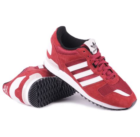 Adidas Zx 700 Sneakers Richard Maroon Colored