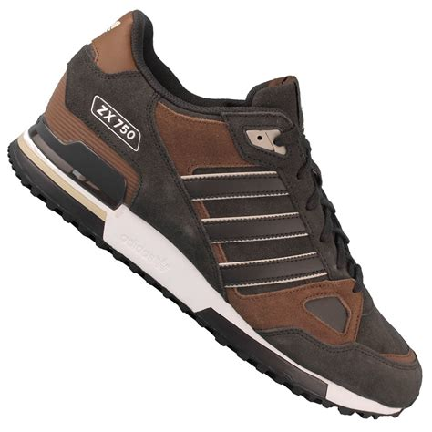 Adidas Zx 750 B25959 Herren-sneaker Night Brown St Bark