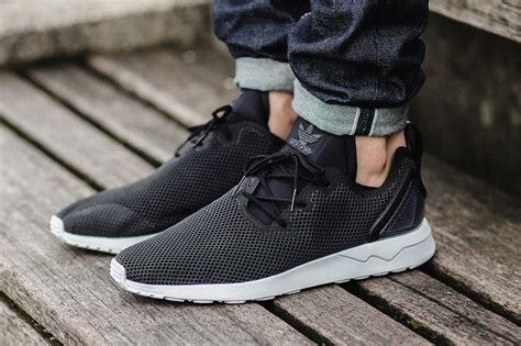 Adidas Zx Flux Adv X Sneakers In Gray