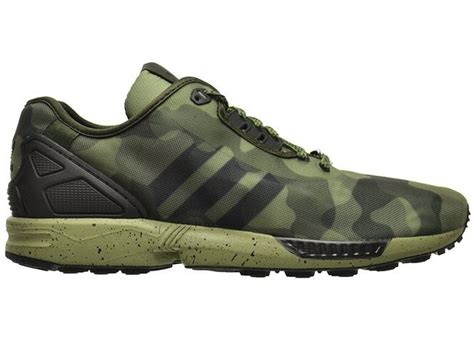 Adidas Zx Flux Camouflage Sneaker