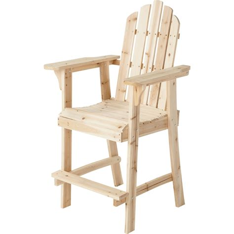 Adirondack Bar Stool Chair Free Plans