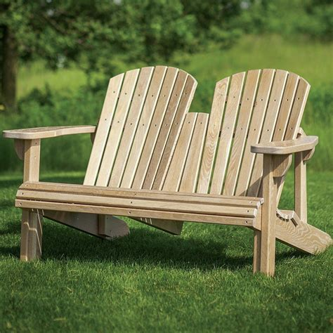 Adirondack Bench With Table Plans