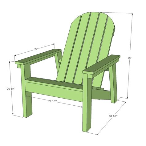 Adirondack Chair Home Depot Plans