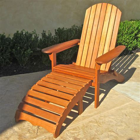 Adirondack Chair Plans With Footrest