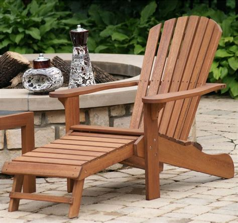 Adirondack Chair Plans With Footrest Home