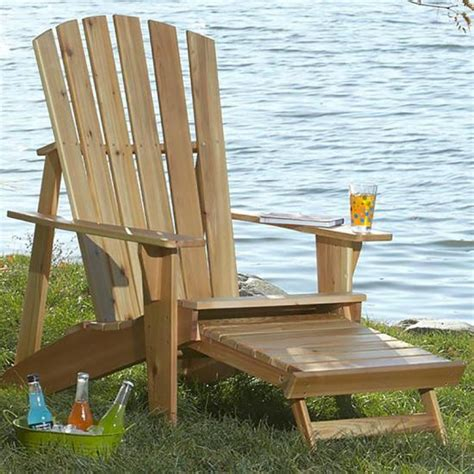 Adirondack Chair Plans With Footrest Instructions