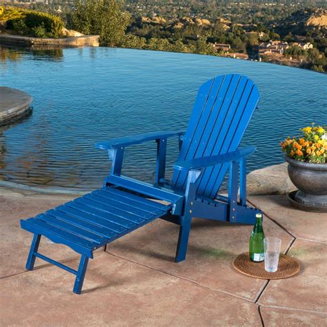 Adirondack Chair With Footrest Plansource