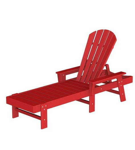 Adirondack Chaise Lounge Chair Plans