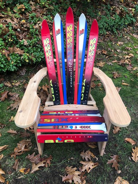 Adirondack Snow Ski Chair Plans